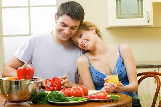 Chế ăn ăn uống phải cân đối và hợp lý